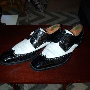 Mezlan Alligator Dress Shoe